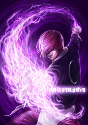 "[ACTUALIZADO]  ""The King of Fighters"" Fan Club Tucumán gT - Página 2 IORI_YAGAMI_by_chrisnfy85"