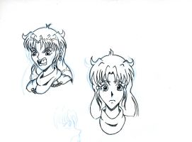 Marrissa Faces 1 by Nipponb