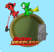 Bloody Trapland PewdieCry. by RileyCry