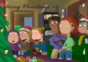 Christmas by the Foutleys by MADt2