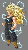 Future Trunks SSJ3 by hsvhrt