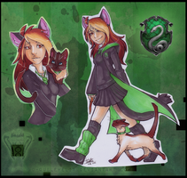Proud Slytherin by Helixel