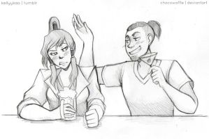 SRU - Drink Buddies by Destiny-Smasher