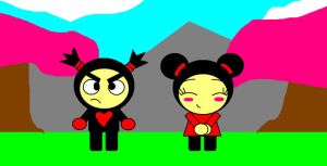 Pucca and Garu by SomePkmn-LovingDude