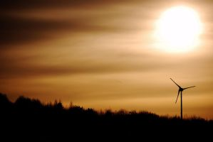 Turbine Shadows by tomedson