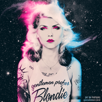 gentlemen prefer Blondie by electroxxtatic