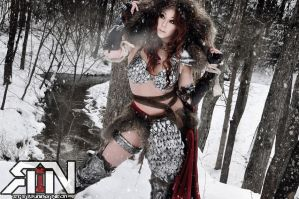 Red Sonja by Its-Raining-Neon
