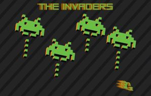 'THE INVADERS' by GabeRios