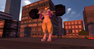 rena seems to have taken working out a little bit by bobcatt