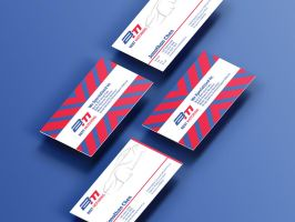 Best motoring business card design by Lemongraphic