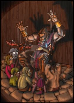 World of warcraft  Tales in Darckshore by Cusso82