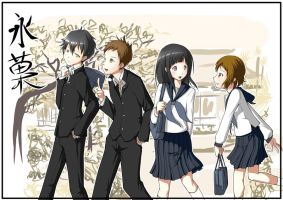 Hyouka by howeirong