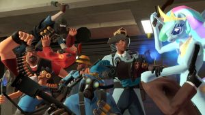 Shenanigans in Team Fortress 2 by Andrewnuva199