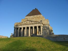 Shrine Of Remembrance by thepantry