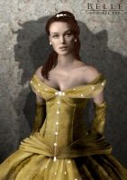 Belle Concept Art by SimonPovey