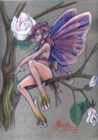 Faerie in the Roses by MommySpike