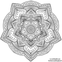 Krita Mandala 31 by WelshPixie