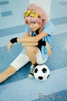 Ace of soccer by PrinceLelouchLowell