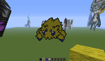 joltik - minecraft pixel art by Rest-In-Pixels