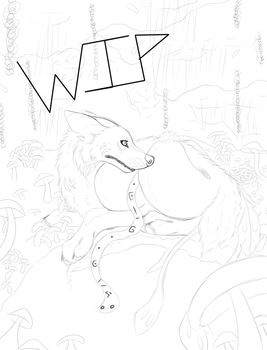 Aki Art Trade Wip 2 by CityProwler