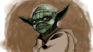 Yoda by Forceyfuntime