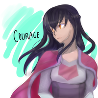 Courage by AyaMichelle