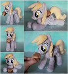 Derpy Beanie with Mini Muffin by ButtercupBabyPPG