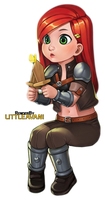 Young Katarina Render by LittleAvani