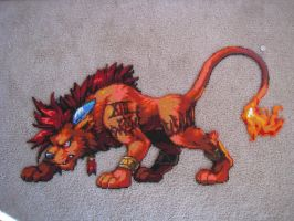 Final Fantasy VII - Red XIII by Wacker00