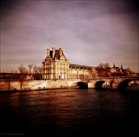 Across the Seine by lomoboy