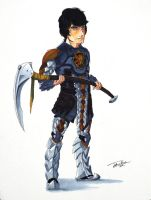 Cole- Earth Armor by joshuad17