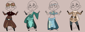 Outfit Adopts by CoffeeCake-Adopts