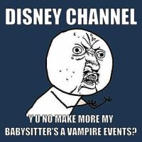 Disney Channel, Y U NO...? by blacka11