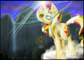 Shimmering Sunset by XxFireFoxWarriorxX