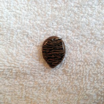 Tiger Faux Stone w/ Tiger Print by Gold-Heart-Clay