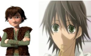 If Hiccup were in an Anime... by jew-girl13