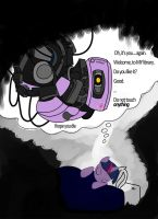 Twilight Sparkle as GLaDOS by SethTurner