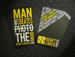 My business card by kraftzarco