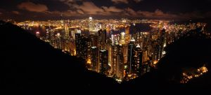 Hong Kong Skyline by Snazz84
