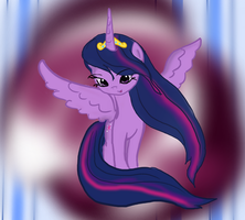 Princess Twilight Sparkle ~Flowy Mane~ by Ambercatlucky2