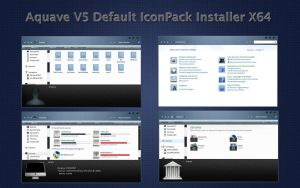 AquaveV5 iconPack Def Inst X64 by Mr-Ragnarok