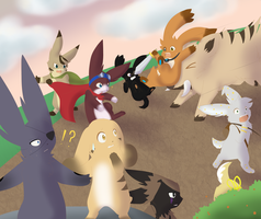 ::SE - The March Down:: by FreckledArtist