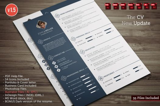 The CV - New Update by khaledzz9