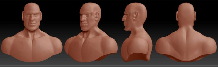 3D BUST by Ridanipo