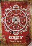 Obey Creeper Poster by dalewilson