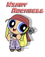 Crossover - Powerpuff Winry Rockbell by DaphInteresting