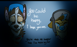 You Could Be Happy. by karrev