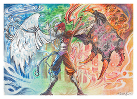 Between Good and Evil by Scalier