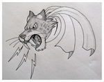 Nose-Art Design: Angry Saber II [Traditional] by TheAngryFishbed