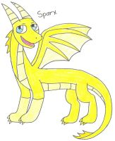 Sparx the dragon by 12051993